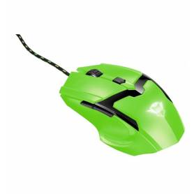 Mouse Gamer GTX SPECTRA NEON GREEN 4800 DPI cable 1.8 mts