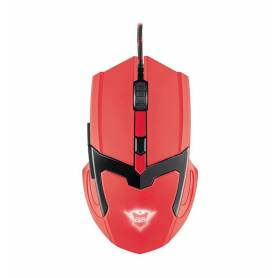 Mouse Gamer GTX SPECTRA NEON RED 4800 DPI cable 1.8 mts