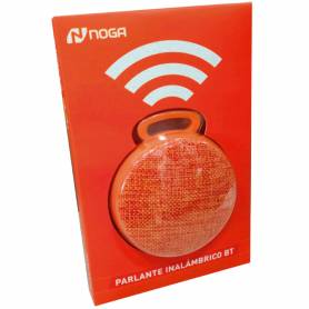 Parlante portatil Bluetooth Noga NGS-T04 Naranja OFERTA