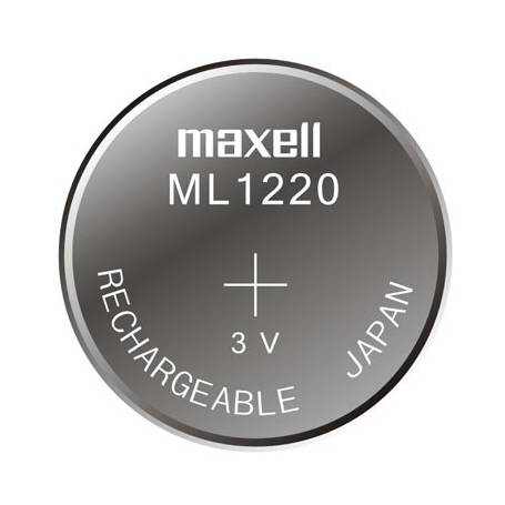 Bateria litio Maxell CR1220 / 3V por unidad