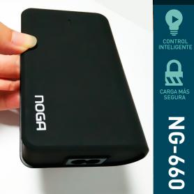 Cargador USB de 4 Puertos USB  2x USB 2.1A  2x USB 1.2A Noga