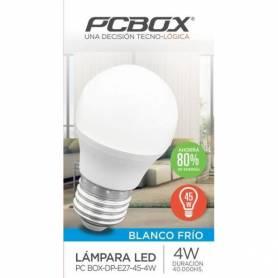 Lámpara LED Pc Box Dp E27 45 4wbf Gota 4w Blanco Frio 320lm