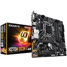 Motherboard Gigabyte GA H370M DS3H 1151 Ddr4 Intel 8Th Generción