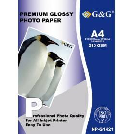 NP-G1421 Papel Foto 210g 20 hojas  G&G