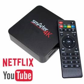 Smarter TV BOX 4K - KANJI *LIQUIDACION *Convertí tu TV en un SMART