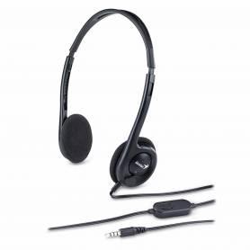 Auriculares de PC c/ Mic HS-M200C Lightweight Genius (Single Jack)
