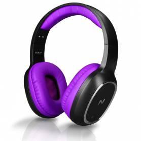 Auriculares Bluetooth Noganet  Aris NG-BT469 Violetas