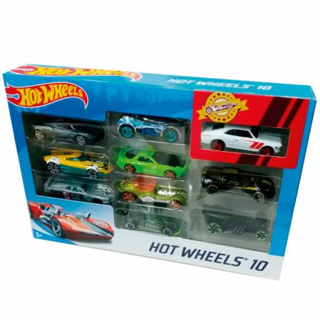 "Autos ""hot Wheels"" por 10 unidades"