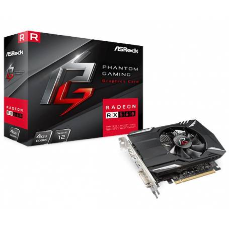 Placa de Video Gamer, Radeon RX 560 Phantom Gaming 4GB GDDR5
