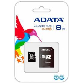 Tarjeta Micro SD 8GB  ADATA Clase 4