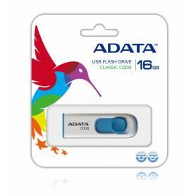 Pendrive ADATA 16GB C008 BLANCO/AZUL