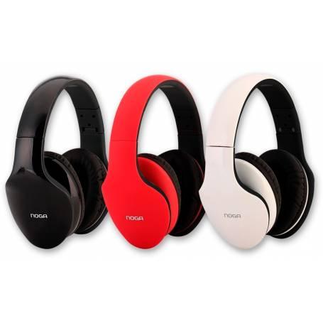 Auricular Noga NG-X10 Fit Color Rojo