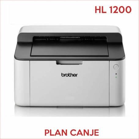 Impresora Brother HL 1200  PLAN CANJE Monocromatica