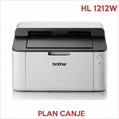 Impresora Brother HL1212W  PLAN CANJE Monocromatica