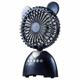 Parlante portatil con ventilador Bluetooth Noga NGP-FAN NEGRO/AZUL