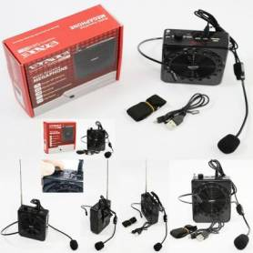 Megafono con Bluetooth  radio FM  AS-2150