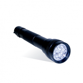 Linterna 8 LEDS incluye PILAS - PROLIGHT Color NEGRO