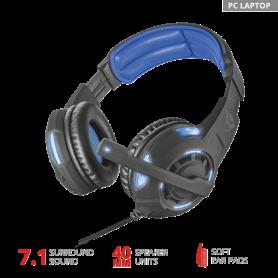 Auricular Gamer  para PC / LAPTOD TRUST GXT350 RADIUS 7.1