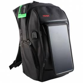 Mochila NOGA con Panel Solar y Power Bank SOLARBAG