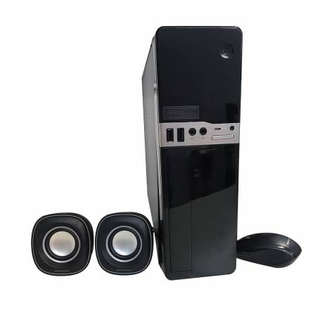 Gabinete Mini ITX Kit  BANGHO Teclado / Mouse / Parlantes