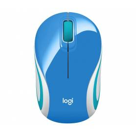 Mouse Mini Logitech M187 Refresh celeste