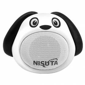 Parlante Portátil Bluetooth Perro NISUTA NS-PA81BP