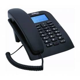 Teléfono con cable Intelbras con identificación de llamadas