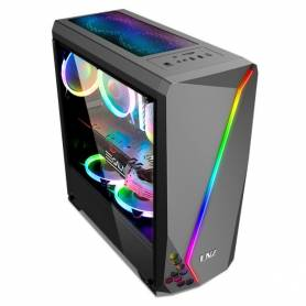 Gabinete Gamer LNZ LZ40 RGB, sin Fuente