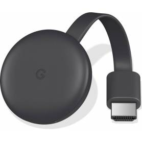 Google Chromecast 3ra Generacion  Full HD - Convertí tu TV en un SMART