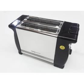 Tostadora Electrica Kanji Home 900w Metal 2 Panes 6 Niveles