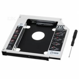 """Adaptar para discos SATA 2.5"""" para Notebook 12,5mm"""