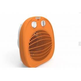 Caloventor Electrico 1800w 2 Potencias Termostato Indeplas IC-01 Naranja (I19)