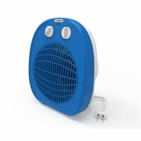 Caloventor Electrico 1800w 2 Potencias Termostato Indeplas IC-01 Azul (I19)