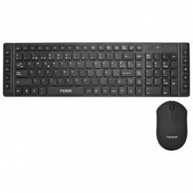 Kit Teclado y mouse  inalambrico Noga S5200