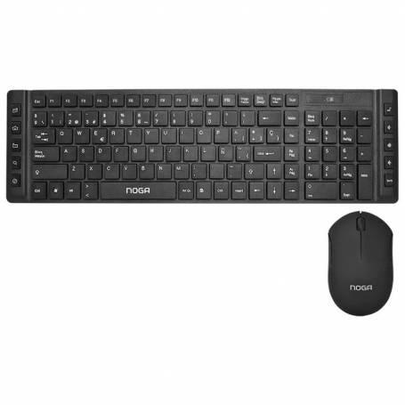 Kit Teclado y mouse  inalambrico Noga S5200