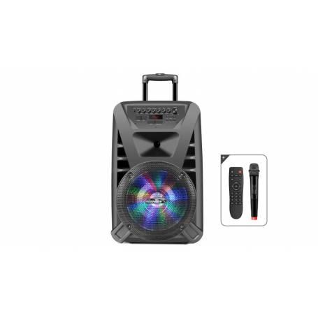 Parlante Karaoke Sentey LS-4930 Inalambrico Usb Sd Radio Led C/mic Bt