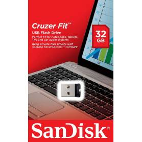 Pendrive NANO Cruzer Fit 32Gb Sandisk USB Flash Drive