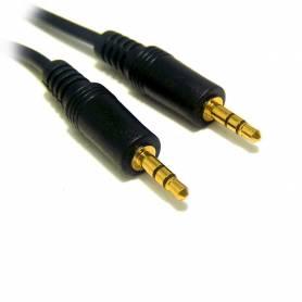 Cable de mini Plug stereo a MPS, Puntas doradas