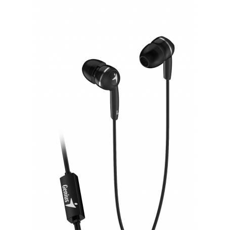 Auricular in ear Genius HS-M320 Negro