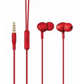 Auriculares In Ear TRUST Ziva Rojo