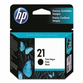 Cartucho   HP 21 original de tinta negra
