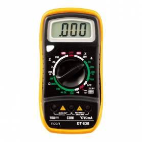 TESTER DIGITAL DT-838 con temperatura - Noga
