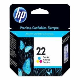 Cartucho   HP 22 original de tinta tricolor