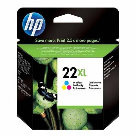 Cartucho   HP 22 XL original de tinta tricolor
