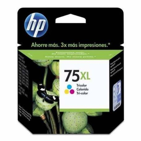 Cartucho   HP 75 original de tinta tricolor