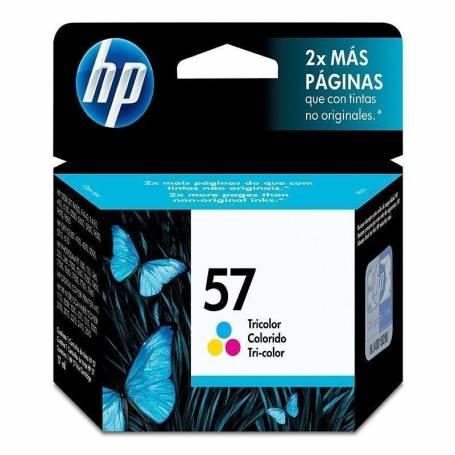 Cartucho   HP 57 original de tinta tricolor