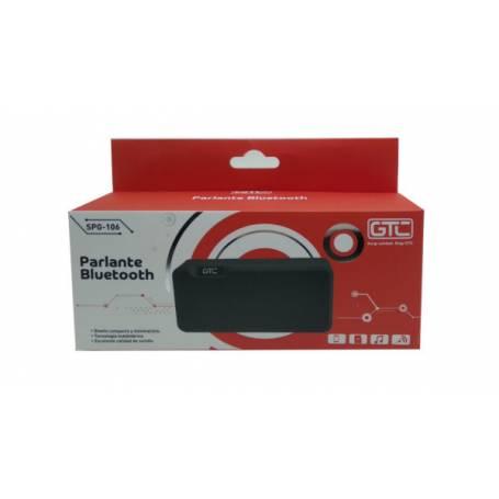 Parlante portatil Bluetooth GTC SPG-106 Verde