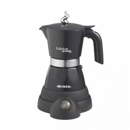 Cafetera Ariete Moka Aroma elettrica Negra