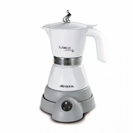 Cafetera Ariete Moka Aroma electrica Blanca