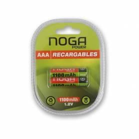 """Pila Recargable NOGA """"AAA"""" Pack 2 Unidades"""